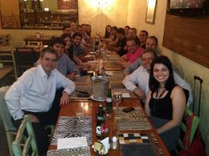 Equipe SAP e Parceirios após inauguração do SAP Labs